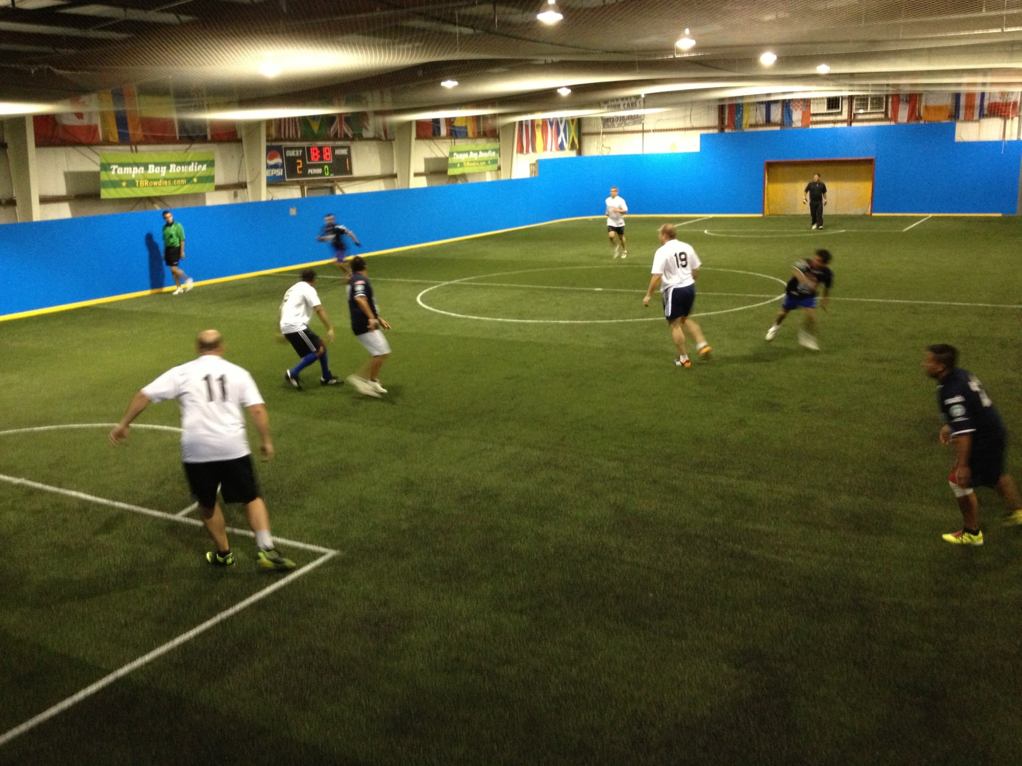 Indoor Mini Pitch Soccer Install